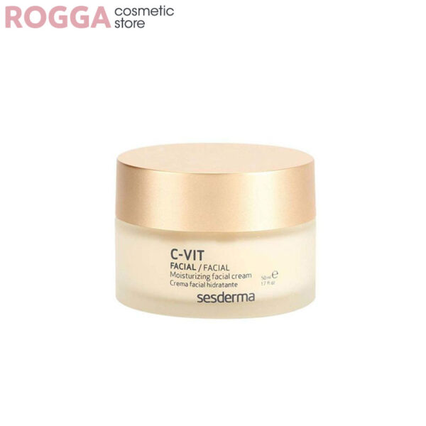 کرم مرطوب کننده سی ویت سسدرما50میلSesderma C-VIT Moisturizing Facial Cream 50 ml