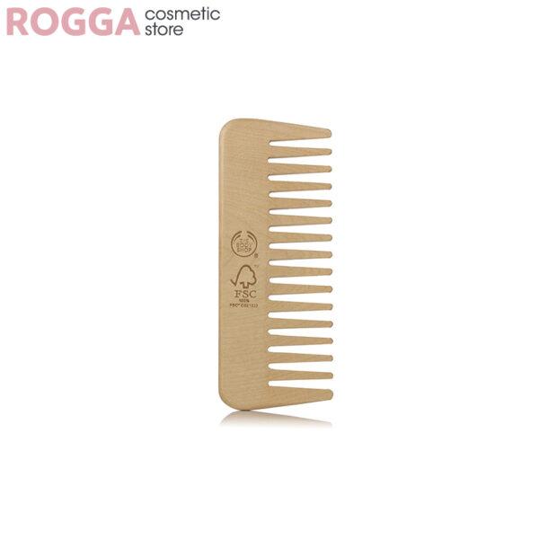 شانه چوبی بادی شاپ m The Body Shop Detangling Comb