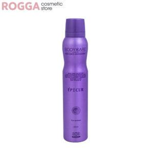 اسپری زنانه بادی کر مدل اپیکور(اکلت) حجم 200میل Body Care Perfumed deodorant EPICUR 200ml
