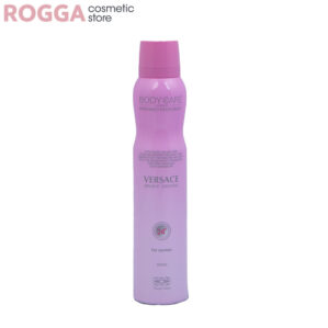 اسپری زنانه بادی کر مدل ورساچ برایت کریستال حجم 200میل Body Care Perfumed deodorant Versace Bright Crystal 200ml