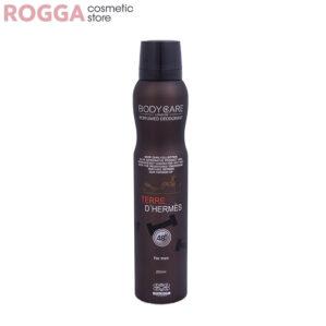 اسپری مردانه بادی کر مدل تردی هرمس حجم 200میل Body Care Perfumed deodorant Terre D'Hermes 200ml