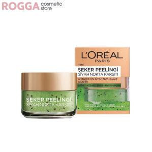 اسکراب کیوی و شکر لورال مخصوص صورت و لب Smooth Sugar Clear Scrub Purifies Skin